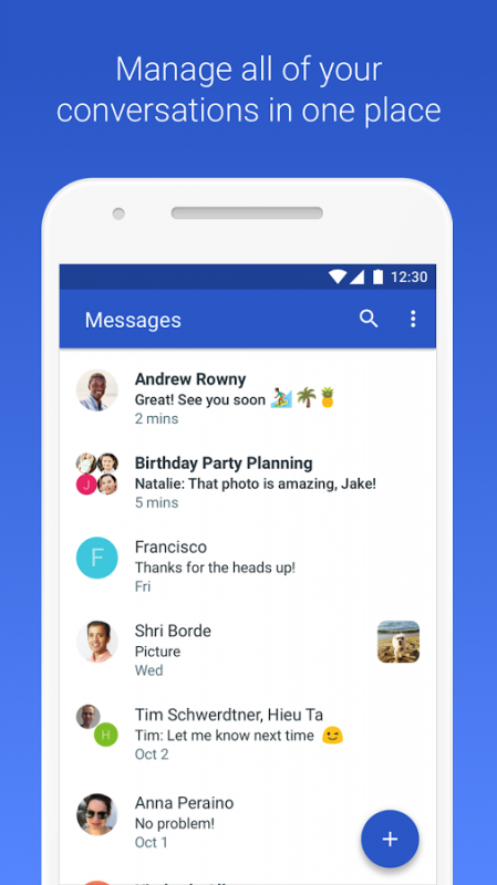 Android Messages APK 4 7 058 kraken rc15 xxhdpi arm64 v8a