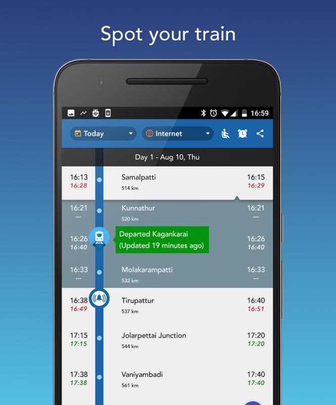 Where is my Train? APK 6 1 3 (com whereismytrain android